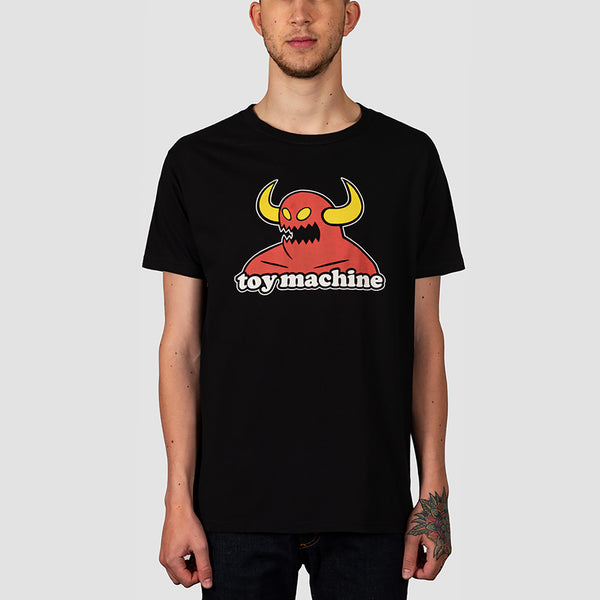 Toy Machine Monster Tee Black
