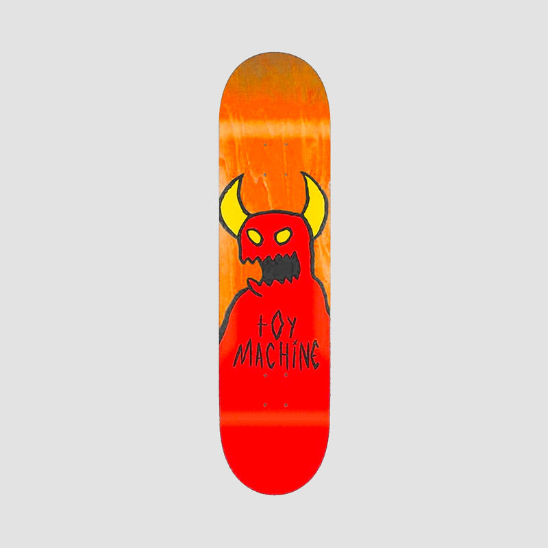 Toy Machine Sketchy Monster Deck Orange Stain- 9""