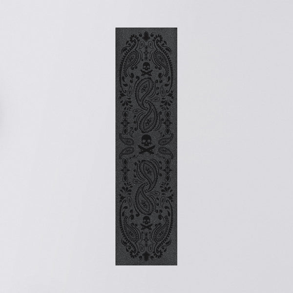 Truegrit Griptape Sheet Black Bandana - 9 - Skateboard