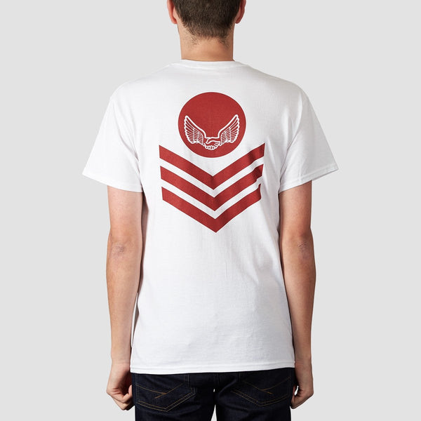 Unabomber Chevron Tee White - Clothing