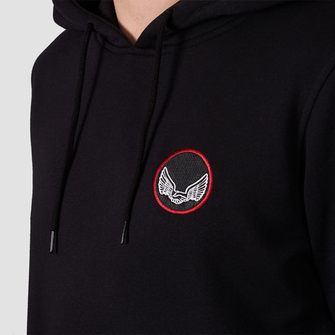 Unabomber Critical Pullover Hood Black - Clothing
