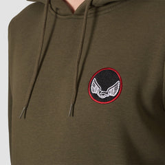 Unabomber Critical Pullover Hood Olive - Clothing