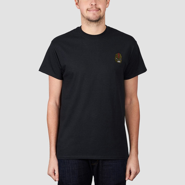 Unabomber Gimp Embroidered Tee Black - Clothing