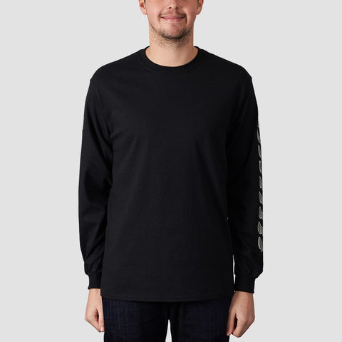 Unabomber Repeater Long Sleeve Tee Black