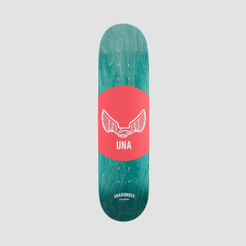 Unabomber Spot Deck Red 8""