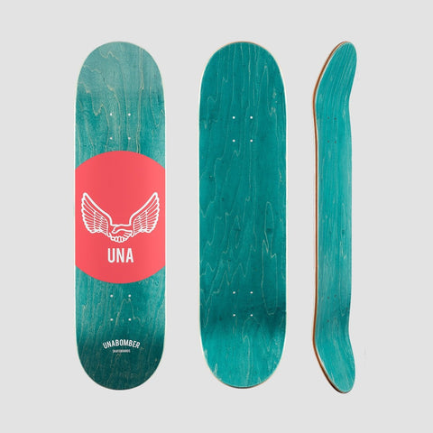 Unabomber Spot Deck Red 8 - Skateboard