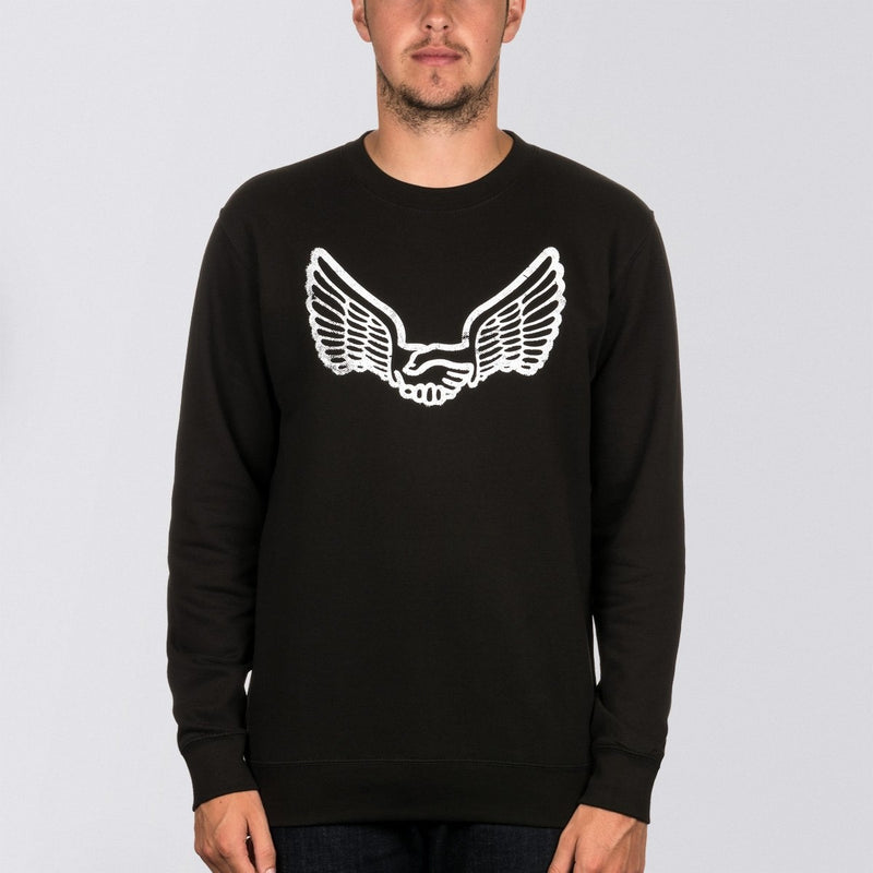 Unabomber Walter Crew Sweat Black - Clothing