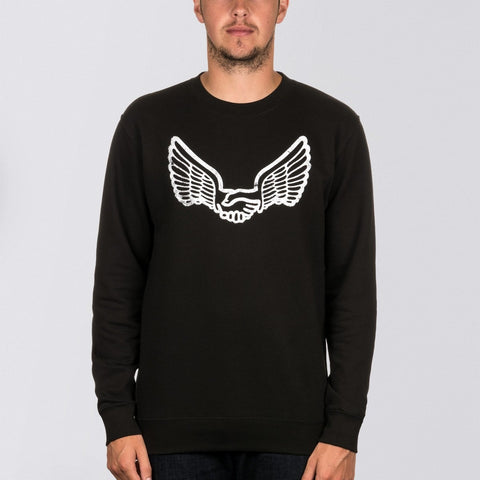 Unabomber Walter Crew Sweat Black