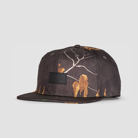 Vans Allover It Snapback Cap Realtree Xtra