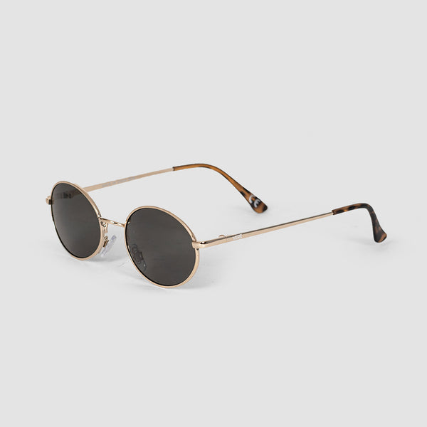 Vans As If Sunglasses Gold/Green Lens - Womens