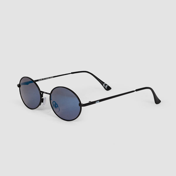 Vans As If Sunglasses Matte Black/Blue Mirror - Womens
