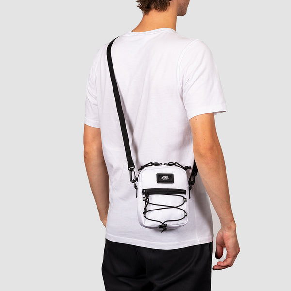 Vans Bail Shoulder Bag White