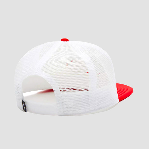 Vans Classic Patch Trucker Cap White/High Risk Red