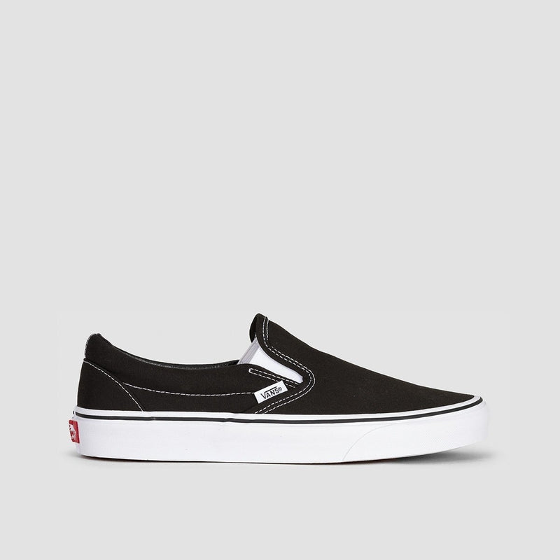 Vans Classic Slip-On Black - Unisex S - Footwear