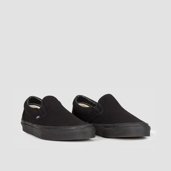 Vans Classic Slip-On Black/Black - Unisex L - Footwear