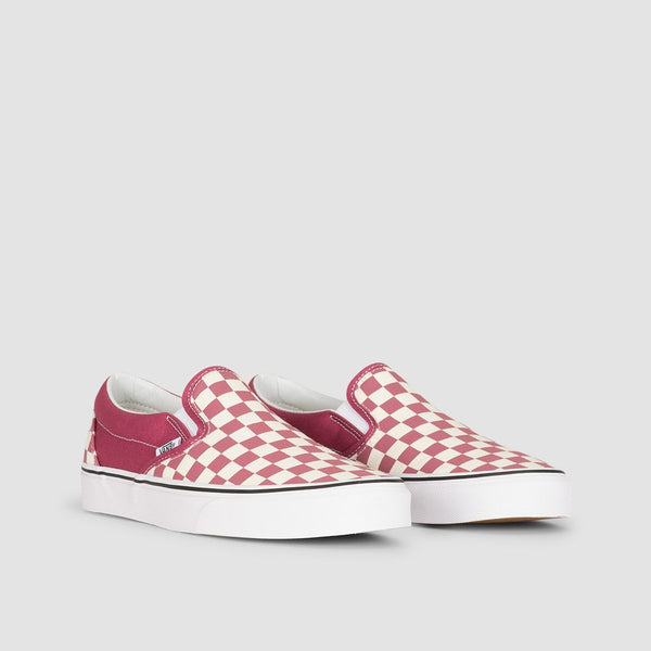 Vans Classic Slip-On Dry Rose/White - Unisex L - Footwear
