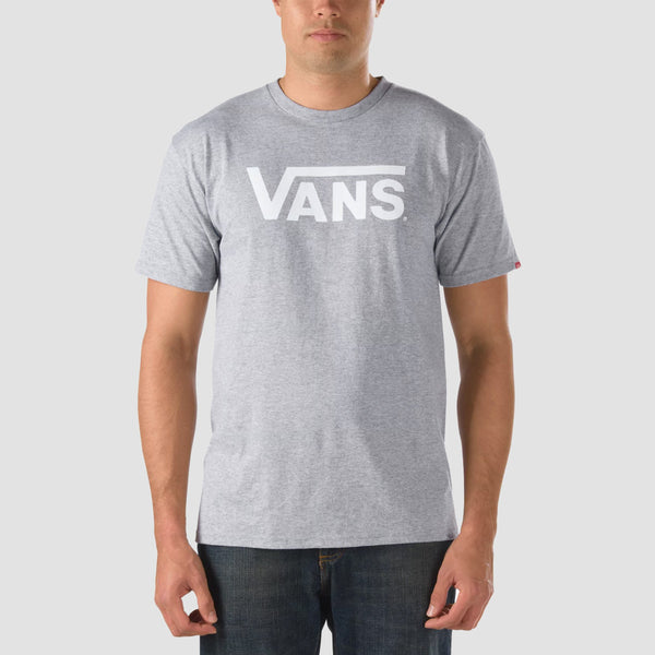 Vans Classic Tee Athletic Heather/White