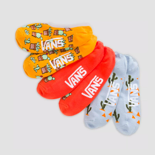 Vans Desert Vibe Canoodles Socks 3 Pack Multi - Womens