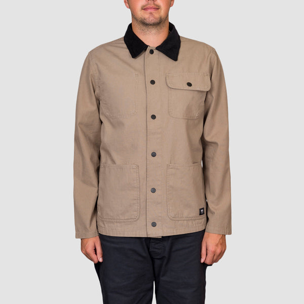 Vans Drill Chore Coat Jacket Military Khaki