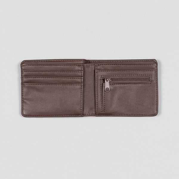 Vans Drop V Bifold Wallet Dark Brown - Accessories