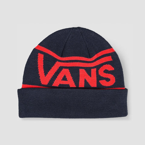 Vans Drop V Stripe Cuff Beanie Dress Blues