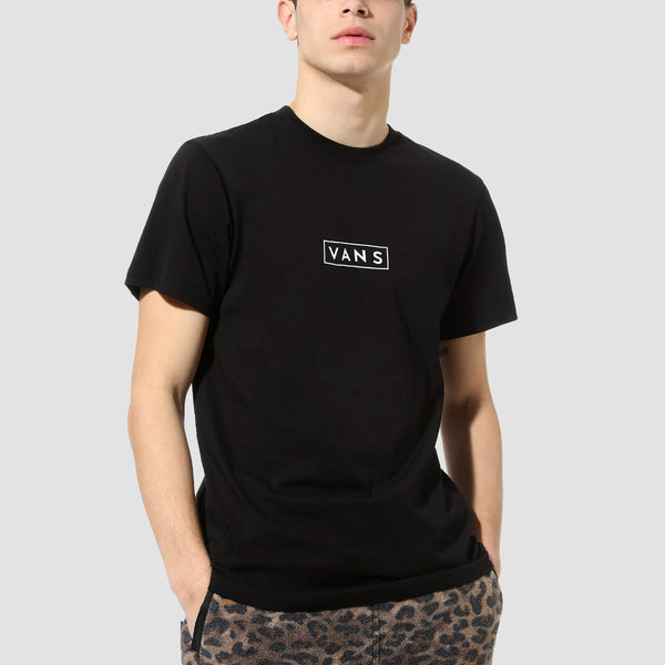 Vans Easy Box Tee Black/White