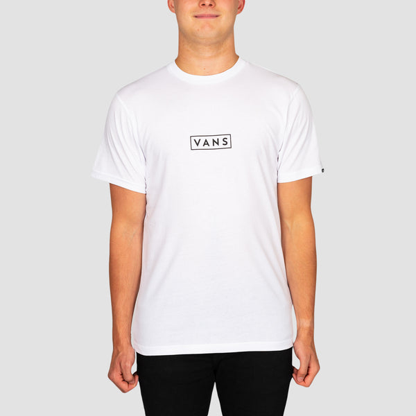 Vans Easy Box Tee White/Black