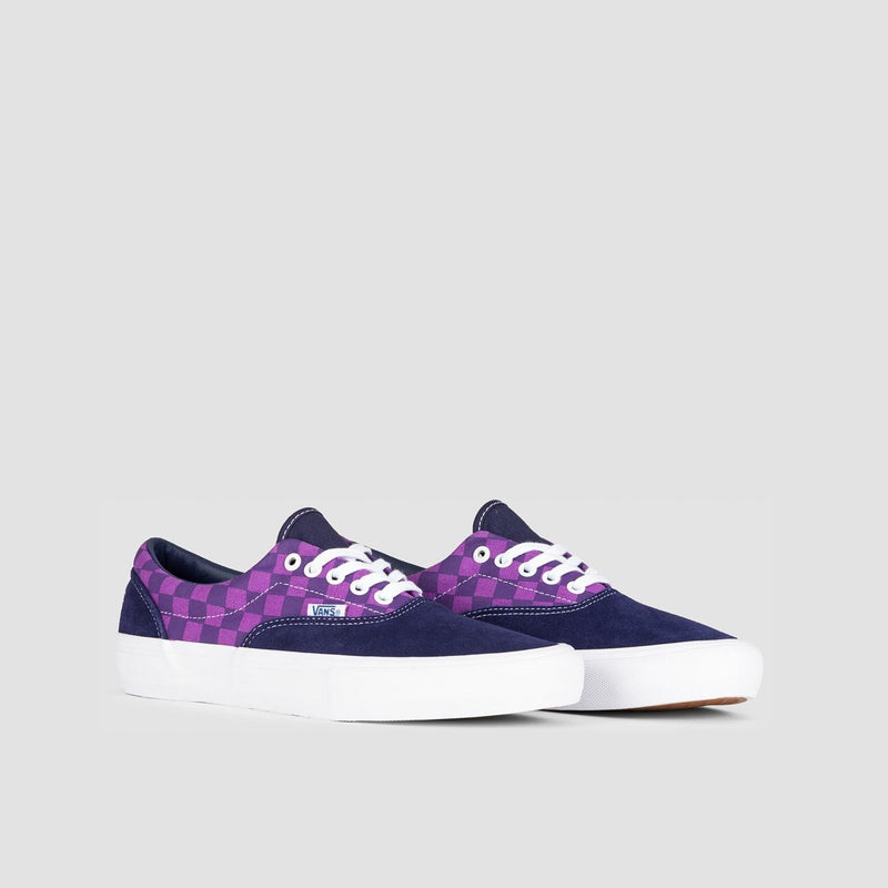 Vans Era Pro Baker Kader/Purple Check - Footwear