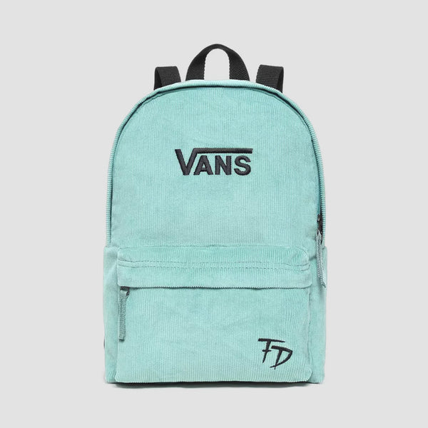 Vans Fabiana Delfino Cord Backpack Oil Blue - Womens