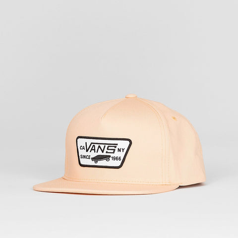 Vans Full Patch Snapback Cap Apricot Ice