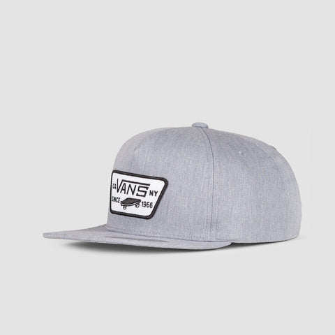 Vans Full Patch Snapback Cap Heather Grey - Kids