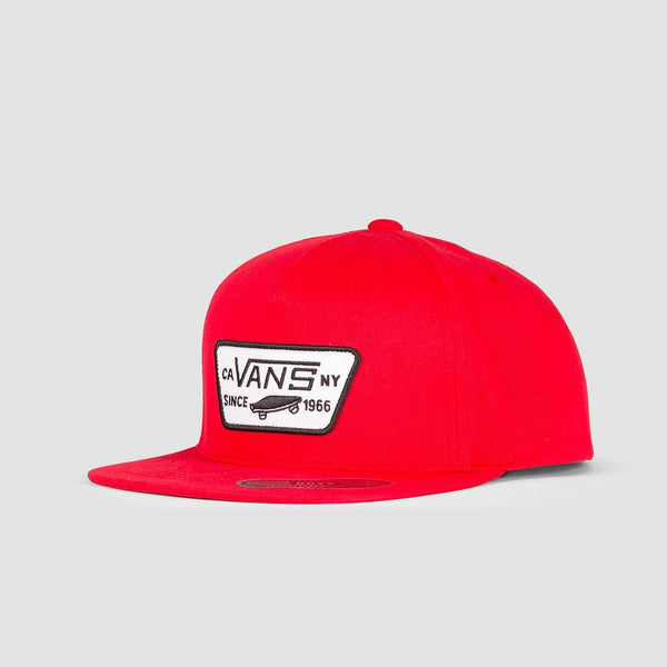 Vans Full Patch Snapback Cap Racing Red - Kids - Accessories