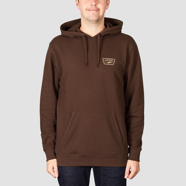Vans Full Patched Pullover Hood Demitasse - Clothing