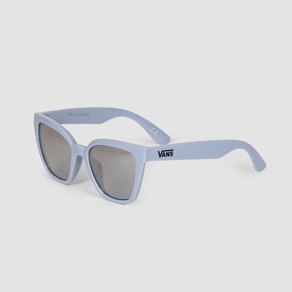 Vans Hip Cat Sunglasses Zen Blue/Silver Mirror Lens - Womens