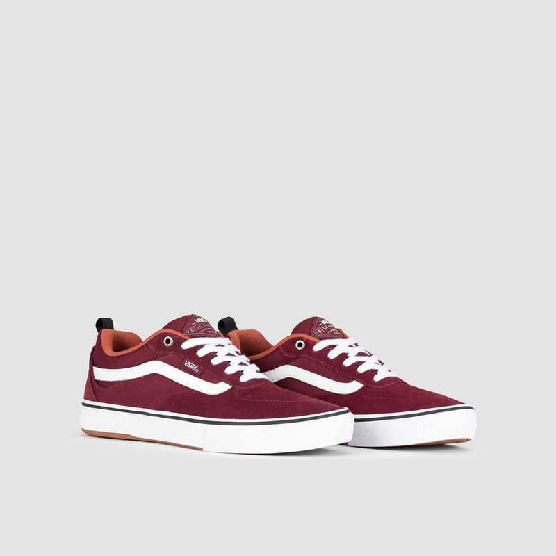 Vans Kyle Walker Pro Heavy Canvas Port Royale/Redwood - Footwear