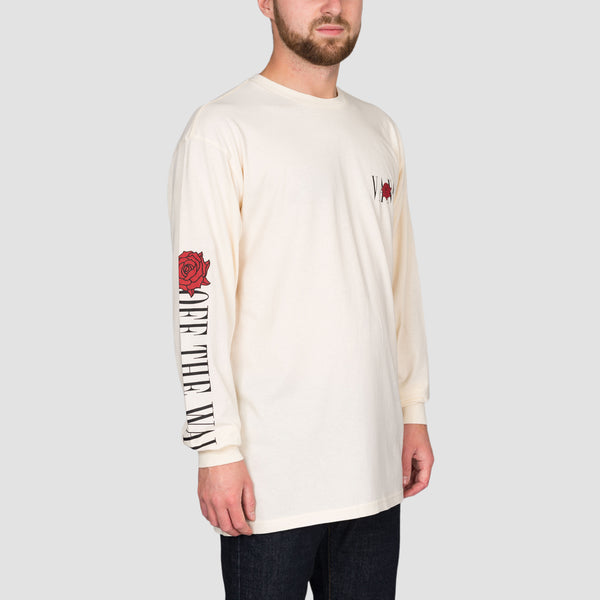 Vans Kyle Walker Rose Longsleeve Tee Antique White