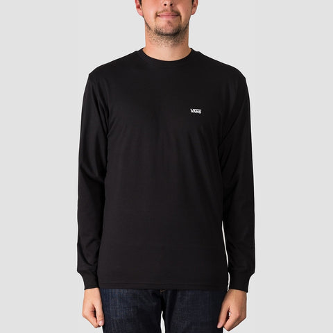 Vans Left Chest Hit Longsleeve Tee Black/White