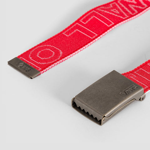 Vans Long Depster Web Belt Hibiscus - Accessories
