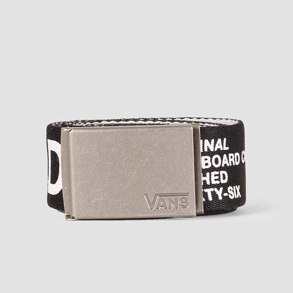Vans Long Depster Web Belt Rowan Zorilla Black/White - Accessories