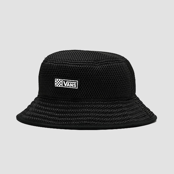 Vans Meshed Up Bucket Hat Black - Womens