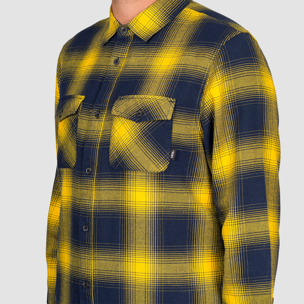 Vans Monterey III Longsleeve Shirt Dress Blues/Lemon Chrome