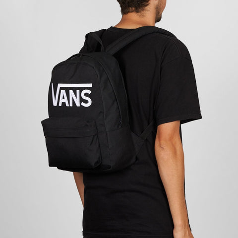 Vans New Skool 20L Backpack Black/White - Kids - Accessories
