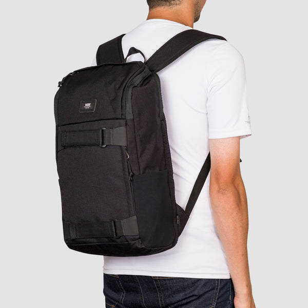 Vans Obstacle 23L Skatepack Backpack Black Ripstop