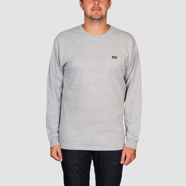 Vans Off The Wall Classic Longsleeve Tee Athletic Heather
