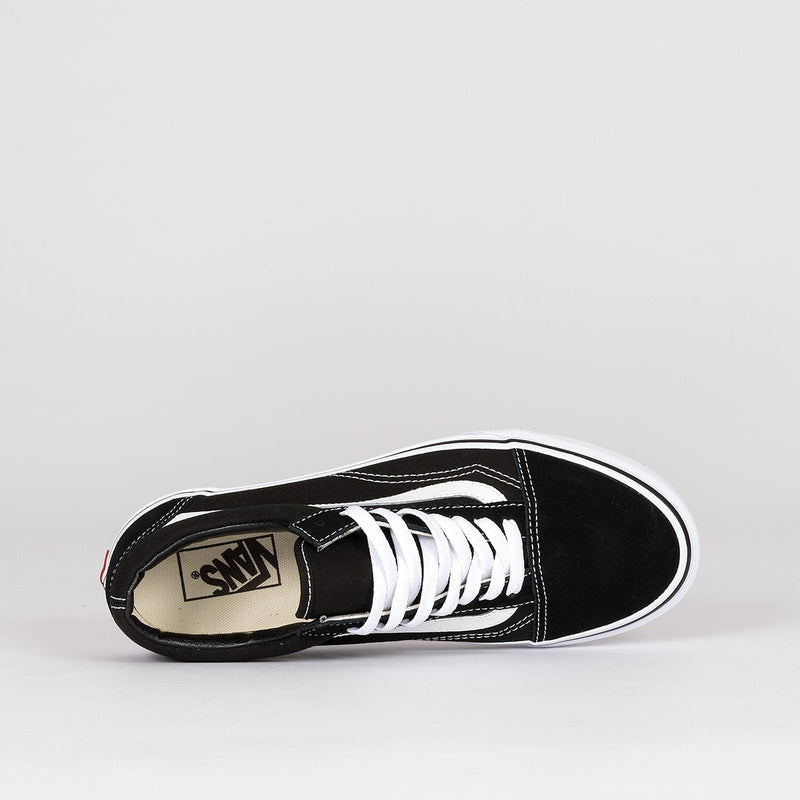 Vans Old Skool Black/White - Unisex L - Footwear