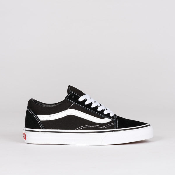 Vans Old Skool Black/White - Unisex S - Footwear