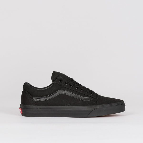 Vans Old Skool Canvas Black/Black - Unisex L - Footwear
