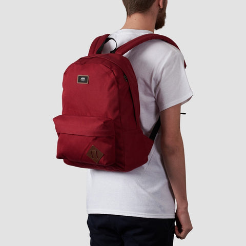 Vans Old Skool II Backpack Rhumba Red - Accessories