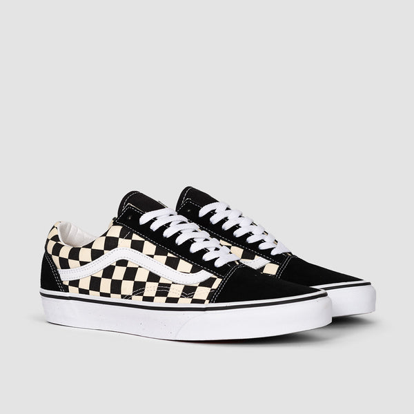 Vans Old Skool Primary Check Black/White - Unisex L