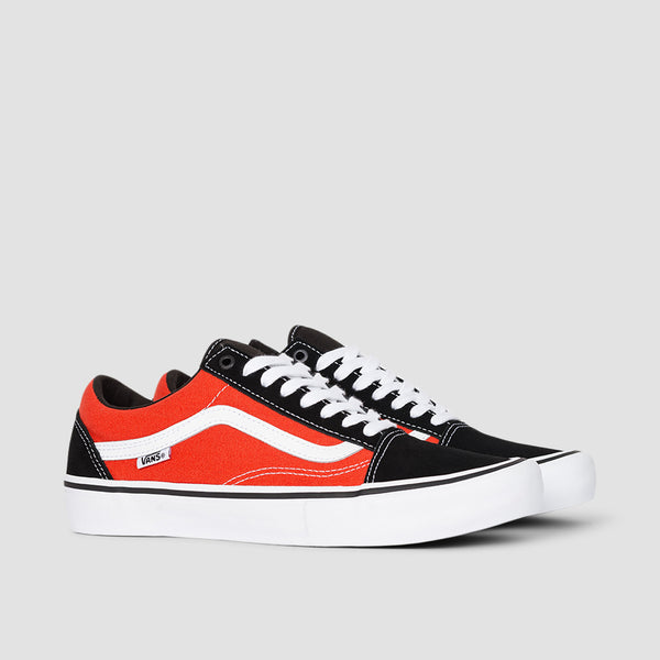Vans Old Skool Pro Black/Orange - Unisex S